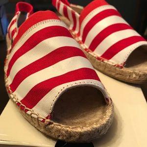 Brand New Striped Espadrilles